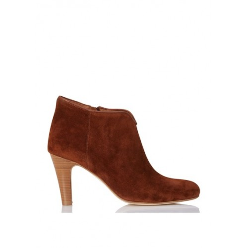 ANTHOLOGY PARIS - Women - Heeled suede ankle boots - Women's Shoes - Ankle Boots HDoLrmHe