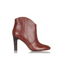 JONAK - Women - Heeled leather ankle boots - Women's Shoes - Ankle Boots guS5Wq8q