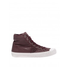 Philippe Model - Gare burgundy high top sneakers - trainers - GRHUV005 - Burgundy qTOXBwZD