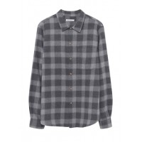 AMERICAN VINTAGE - Men - Regular-fit checked cotton shirt with classic collar u1IrBamS