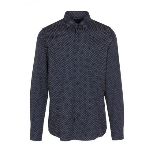 BEST MOUNTAIN - Men - Slim-fit spotted shirt FWU7PWHE