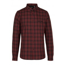 IKKS - Men - Slim-fit checked cotton shirt with classic collar lUQI8k0R