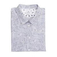 PAUL SMITH - Men - Slim-fit printed cotton shirt with classic collar zxHMCPPA