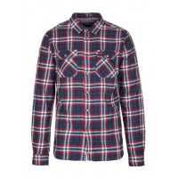 SUPERDRY - Men - Checked cotton shirt with classic collar QcbZgcHM