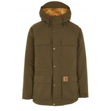 CARHARTT WIP - Men - Hooded parka with faux fur lining qFyKPpO9