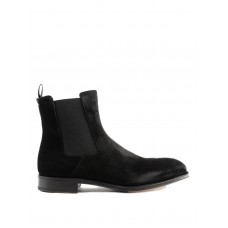 Alexander Mcqueen - Goodyear suede ankle boots - ankle boots - 505613WHRA11000 - Black pdthsBIl