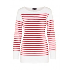 ARMOR LUX - Women - Heavy jersey regular-fit Breton top with boat neck uG7R5jyx