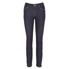 CLAUDIE PIERLOT - Women - Slim-fit jeans with regular waist and studs Women's Clothing - Jeans 640XmbEJ